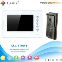 Wholesale XSL V70D F V1 XINSILU Manufacturer New coming product wired video door phone for home security