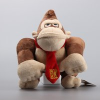 baby monkey for sale - Hot Sale quot CM Super Mario Monkey King Kong Plush Stuffed Toy Dolls Kids For Baby Gift