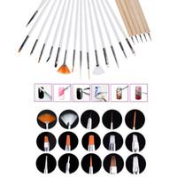 Cheap G0149 dotting pen Best 20 pcs/set Wood nail brush dotting pen