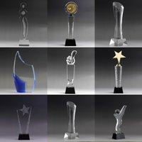 awards and decorations - Custom K9 crystal trophy new design crystal trophy and awards TA7001 Ruiliang Crystal Handcraft Factory1