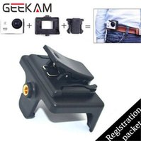 Wholesale Action Camera Quick Clip Mount For SJCAM SJ4000 Wifi Sj4000 SJ6000 SJ7000 Sports Camrecorder Accessories Protective Case