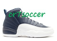 Wholesale 2016 new arrivals Retro obsidian men basketball Shoes cheap retro XII sports footwear retro s the master athletic sneakers flu game