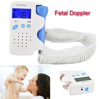 Wholesale Hot Sale Fetal Doppler MHz with LCD Display Baby Heart Rate Monitor