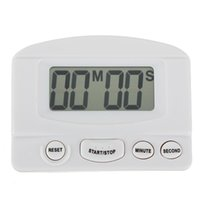 abs programming - Large LCD Digital Kitchen Timer Count Down Magnetic ABS electronic components Display Electronic Up Down Timer Black White