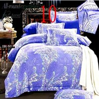 Cheap Wholesale-HD 3D wholesale summer style funda nordica 4 pcs set bed linen 3d bedding set king size ropa de cama free shipping