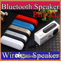 pill speaker - Pill XL Bluetooth Speaker Lx Mini Pulse Speakers Built in Mic Handsfree Support TF Card USB Disk FM Radio Subwoof wireless speaker D YX