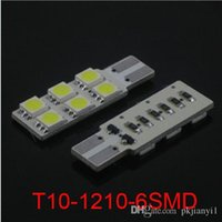 Wholesale T10 W5W t10 SMD LED Car Side Light Lamp Bulb NEW