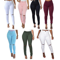 Wholesale Autumn Winter Jeans For Women Elastic Autumn Jeans Woman Skinny Trousers High Waist Women s Jeans Plus Size Slim Femme Black Women s Pants