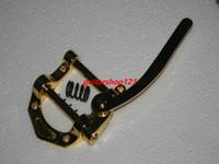 Wholesale Guitar Bridges Korea producing electric guitar vibrato bridge drawing golden OEM Musical instruments