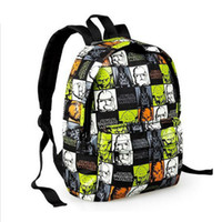 Wholesale Cartoon Star Wars Yoda Darth Vader storm soldier Stormtrooper Anime Starbucks Tactical Bag Fashion Kid Children School Backpack