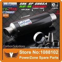 Wholesale LEOVINCE SBK GP CORSA SLIP ON Motorcycle Exhaust Carbon Fiber Pipe Muffler CB400 CB600 CBR600 CBR250 ER6N ER6R YZF600 Z750