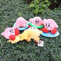 animal kirby plush - 12cm Super Mario Bros Kirby Plush toy Doll Stuffed Toys Super Mario toys