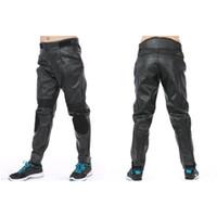 Wholesale Anti Tearing Waterproof Racing Pants PU Imitation Leather Hard Wearing Windproof Adjustable Zipper Fly Riding Trousers