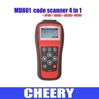 Wholesale MaxiDiag PRO MD801 OBDII Scanner in MD801 Code Reader JP701 EU702 US703 FR704