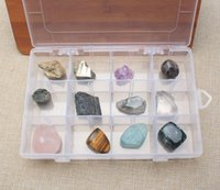 angels mailings gift - Package Mail To The Edge Of The Crystal Crystal Gravel Children Gift Play Stone Grid Mineral Specimen Raw Ore Mineral Jewel Loose Stone