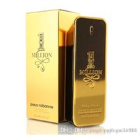 Wholesale NEW HOT original package ml scented one million for men have logo box on perfuming new fragrancing and Cologning