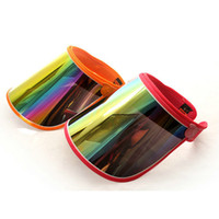 active boards - Cap Visors For Car Anti UV Light Cap PC Sun Hat Colorful Board To Ride Sun Visors