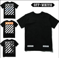 best quick print - best edition Off White CO men short sleeve tshirt tee off white virgil abloh t shirt tee kanye west t shirt striped