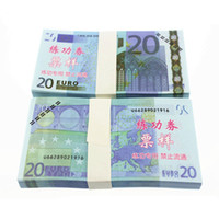 Paper art paper sizes - New Movie Props Money Euros Training Banknote Size Bank Staff Collect Learning Banknotes Home Decoration Arts Crafts Gifts