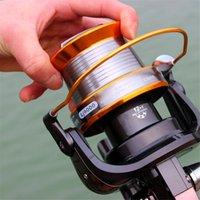 big brand wheels - Sougayilang Brand Super Big Spool BB Series Fishing Reel Big Capacity Spinning Reel Metal Fishing Line Wheel Pesca