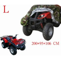 atv covers waterproof - Camouflage T Polyester L size ATV ATC Quad Bike Waterproof Cover For Yamaha For Kawasaki For Arctic Cat KING DELUXE B27