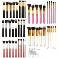 Wholesale Makeup Brushes Superior Professional Soft Cosmetics Make Up Brush Set Woman s Kabuki Brush kit Makeup Brushes