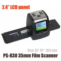 Wholesale Digital Film Negative Photo Scanner Converter mm USB LCD Slide quot inches LCD screen support GB TF film scanner PS