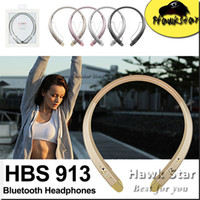 Wholesale HBS wireless bluetooth headphones over ear running noise headset Sport For Iphone Samsung