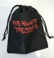Wholesale New FNAF bags five nights at freddy s toys bag Storage bag five nights at freddy bag