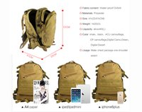 Wholesale The new military enthusiasts pack waterproof outdoor tourism mountain bike ride a tactical tra nsport saddle bags can be placed mobile