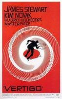 alfred hitchcock - A803 Vertigo Vintage Alfred Hitchcock Movie Art Silk Poster Room Wall Decor x36inch