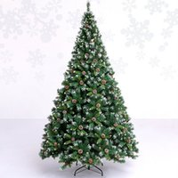 Wholesale 2 m cm soiled white snowflake Christmas tree decoration pineal auto mall bar decorated hotel