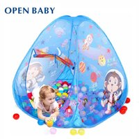 baby play space - Open Baby Child Toy Tent Indoor Outdoor Breathable Game House Sale Large Outer Space Kids Play Tent With Ocean Balls Free
