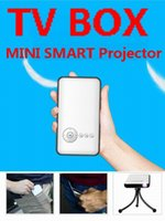 Wholesale Hybrid Set Top Box Mini Projector For TVbox And Phones With Android IOS System DLP Mini Projectors For Home Theater M6