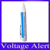 Wholesale Voltage Alert Voltage tester voltage meter VD02 LED light to V AC Volt Alert Pen Detector Sensor V VD02