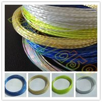 Wholesale hot M Rough MM titanium tennis string line crystal Power tennis rackets strings training racquet string line
