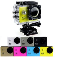 Wholesale SJ4000 Inch LCD Screen P Full HD Action Camera M Waterproof Camcorders SJcam Helmet Sport DV Car DVR by DHL