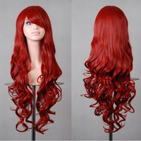 Wholesale Multi color Cosplay Synthetic Fibre Hair Wigs Ladies Lolita Masquerade Party Daily Wearing Full Wig Hairpieces Hot