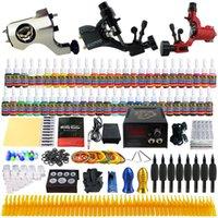Beginner Kit tattoo kit - Solong Tattoo Sale Tattoo Kit Beginner Machine Gun Power Supply tattoo kit grips ink TK355