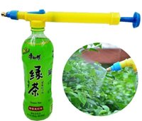 Wholesale Home Gardening sprayer watering can barometric watering pot wash pot of nozzle yellow