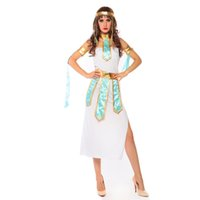 arab girl dance - COS Cleopatra serving India and Arab girl belly dance costumes Halloween Greek goddess playing clothes