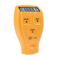 al por mayor espesor del recubrimiento digitales-GM200 la capa de pintura Espesor probador de diagnóstico-herramienta Medidor ultrasónico digital ultrasónico del coche 1.80mm pintura Instrumento de hierro Medidor Benetech