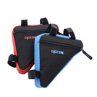 bicycle frame packs - Cycling Bicycle Bike Bag Front Frame Head Pipe Triangle Bag Pouch for outdoor sport
