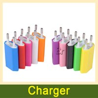 battery powered ac - Colorful EU US Wall Charger AC Power Adapter Home Charger Battery Chargers For Samsung Galaxy S5 S4 S6 Note For iphone6 Cell phones X1