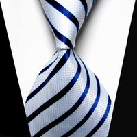 Wholesale Striped Plaid Silk Men Tie Knitted Classic Grain Fashion Luxury Necktie Jacquard Formal Business Wedding Party Ties For Men