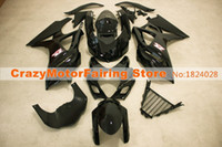 Wholesale 3 Free Gifts New ABS Motorcycle Fairing Kits For Suzuki GSXR1000 GSX R1000 K7 ABS Bodywork Cowling nice hot black