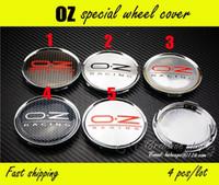 Wholesale Fast Shipping mm OZ Emblem Wheel Center Caps Hub Cap OZ Sticker Wheel covers