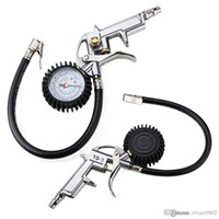 Wholesale Air Auto Motorcycle Truck Tire Tyre Inflating Inflator Tool Pressure Dial Gauge