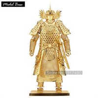armor hobbies - Adult Puzzle D Children Educational Games Assembling Puzzles Metal Hobby Toys For Kids Diy d Model Chinese Generals Armor
