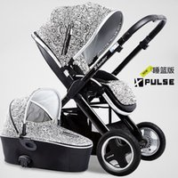 Wholesale Xlander x pulse Luxury infant baby stroller in with carrycot for newborn baby flat lay wheels baby pram pushchair